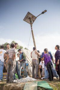 Intervention d'urgence au Népal