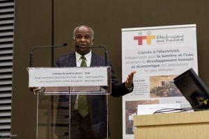 Edouard Dahomé, conseiller de Jean-Claude Houssou, ministre de de l'énergie, de l'eau et des mines du Bénin