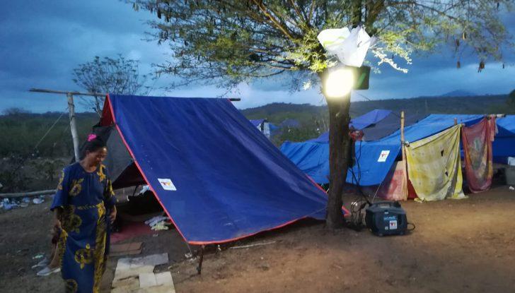 Camp de déplacés
