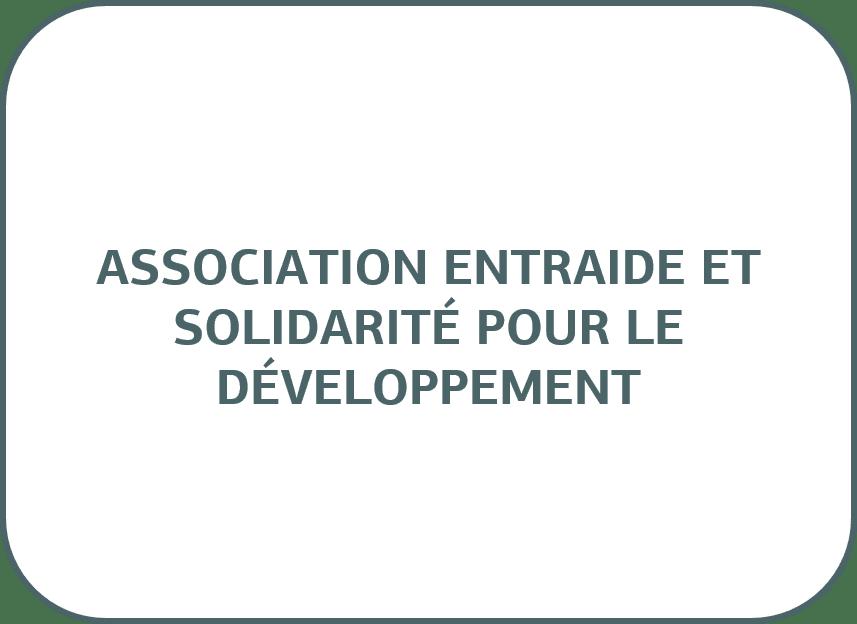 Association Entraide et Solidarité pour le Développement