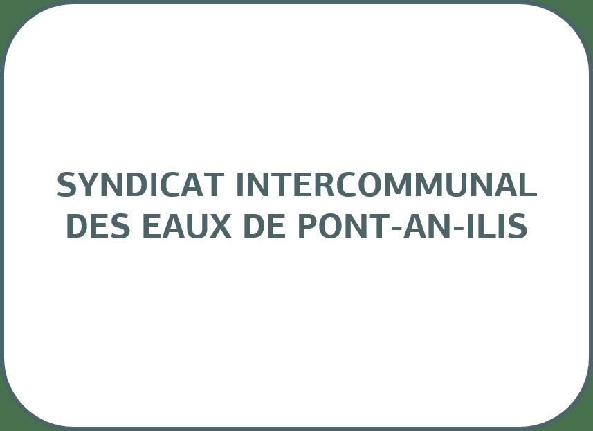 SYNDICAT INTERCOMMUNAL DES EAUX DE PONT-AN-ILIS